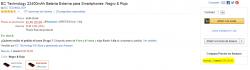 Buy Box en ficha de producto de Amazon