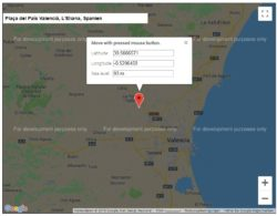 Find Google Maps coordinates - fast and easy!