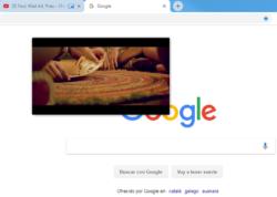 Google Chrome - Ejemplo de vídeo YouTube reproducido en una ventana flotante
