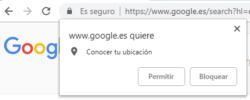 Google quiere conocer tu ubicación