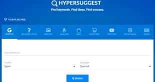 HypperSuggest: Herramientas SEO molonas