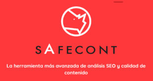 Safecont: Herramientas SEO molonas