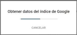 Google Search Console - Inspeccionar URLs - Obtener datos del índice de Google