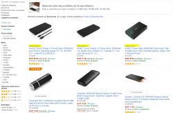 Resultados de búsqueda en Amazon