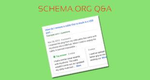 El marcado Schema Q&A no debe usarse en páginas de FAQs con más de una pregunta