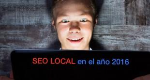 Consejos de SEO local para el año 2016