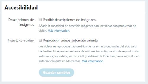 Twitter accesibilidad: Escribir descripciones de imágenes